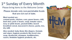 HUM food donations